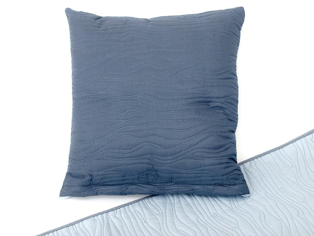Dekorační polštářek 40x40 cm tmavě šedý