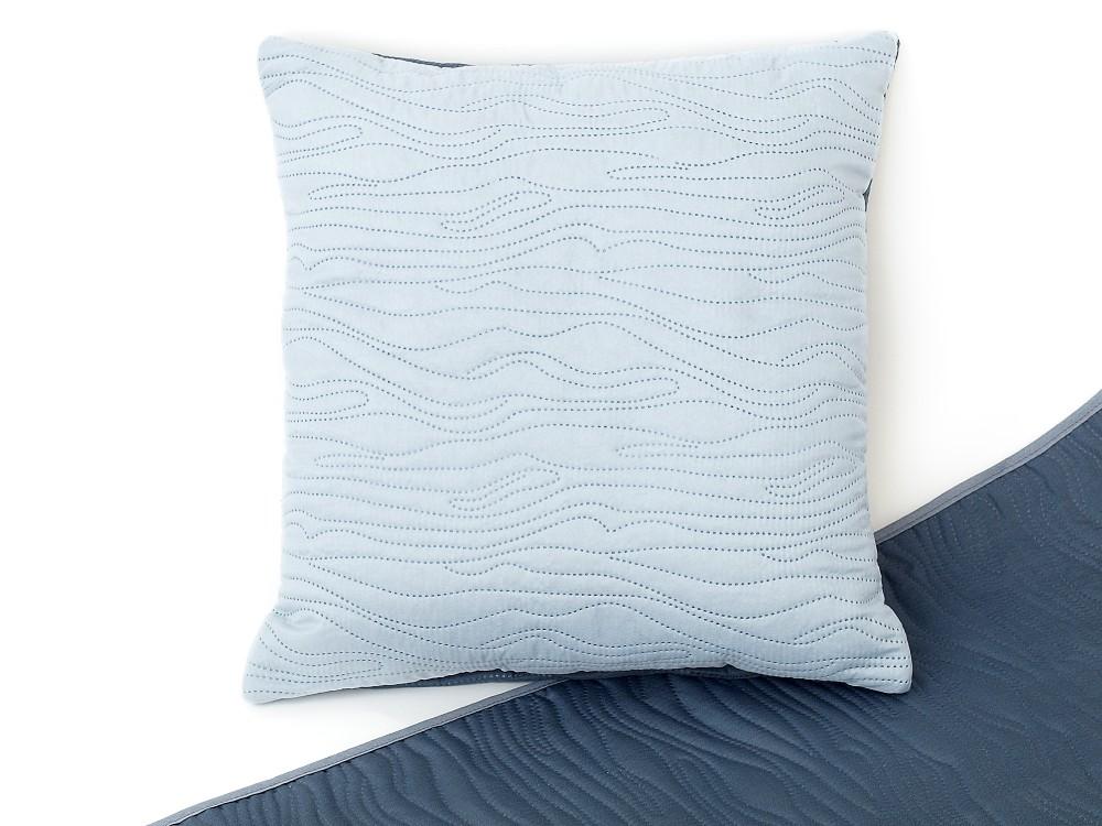 Dekorační polštářek 40x40 cm světle šedá