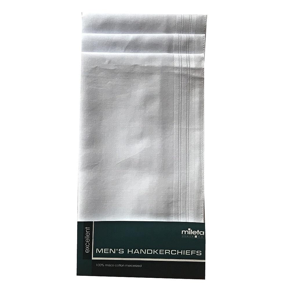 Pánský kapesník GERE 3737 bal 6 ks - bílé