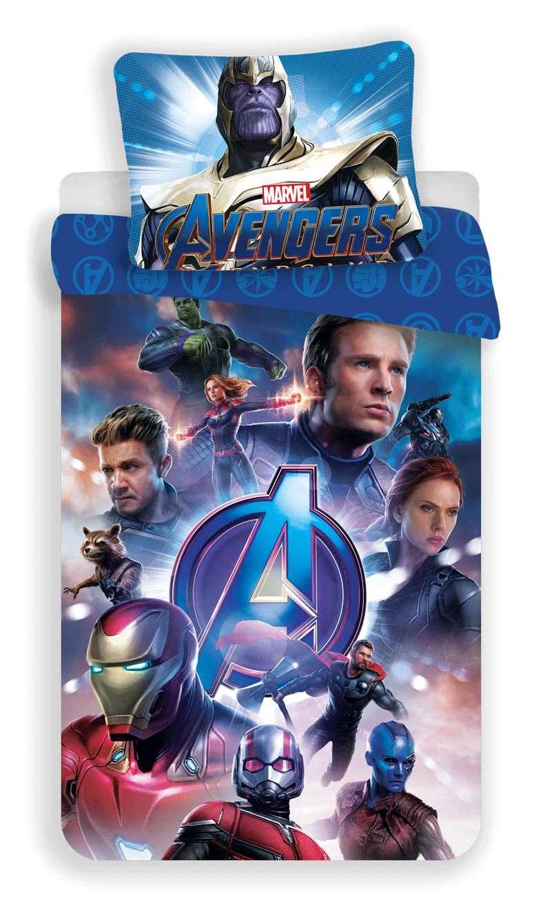 Povlečení Avengers Endgame 140x200, 70x90 cm