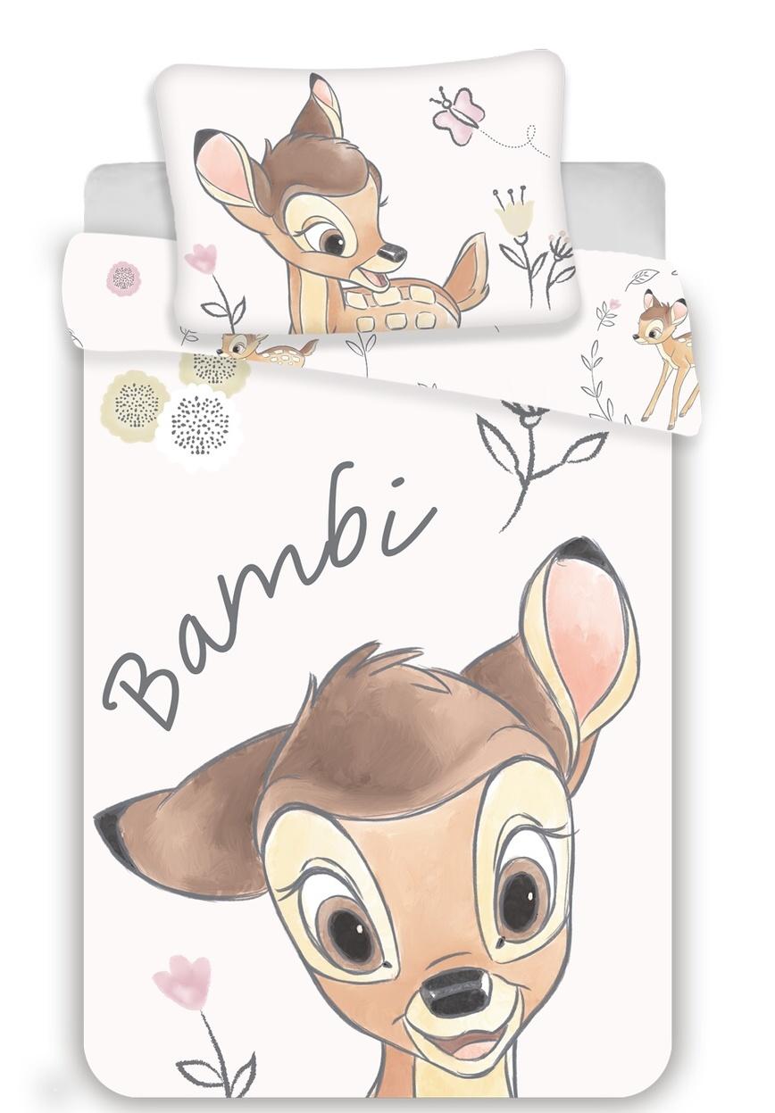 Disney povlečení do postýlky Bambi baby 100x135, 40x60 cm