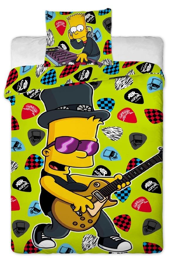 Povlečení Simpsons Bart guitar 2015 140x200 70x90