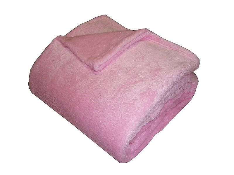 Super soft deka Dadka - růžová