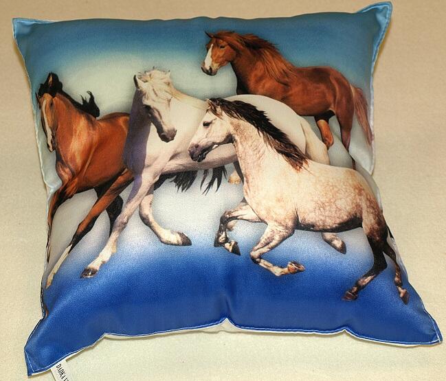 Fotopolštářek - Stádo koní