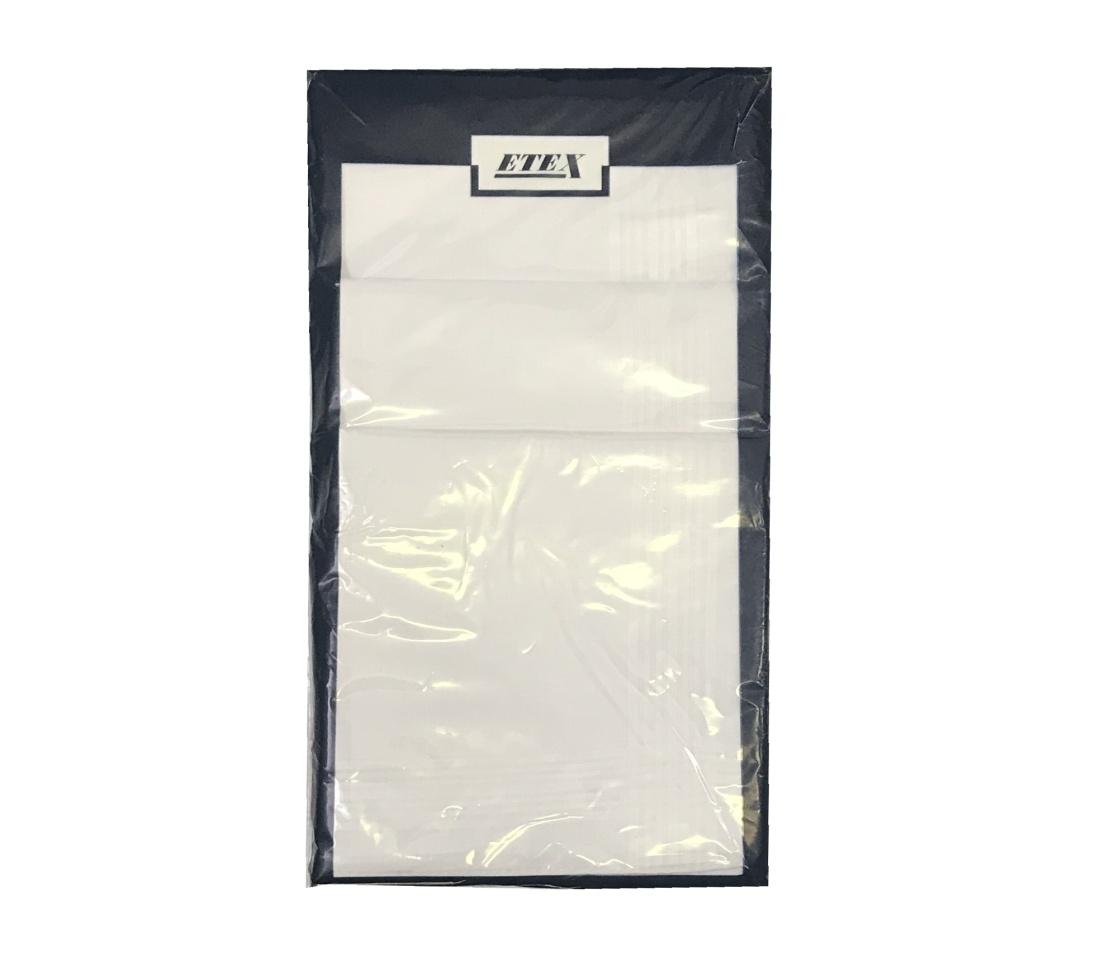 Pánský kapesník M11 bal 6 ks - bílý