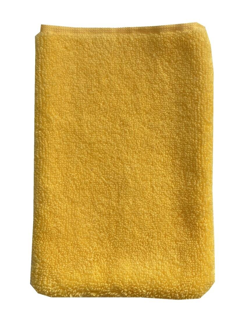 Žínka Star II 15x25 cm žlutá