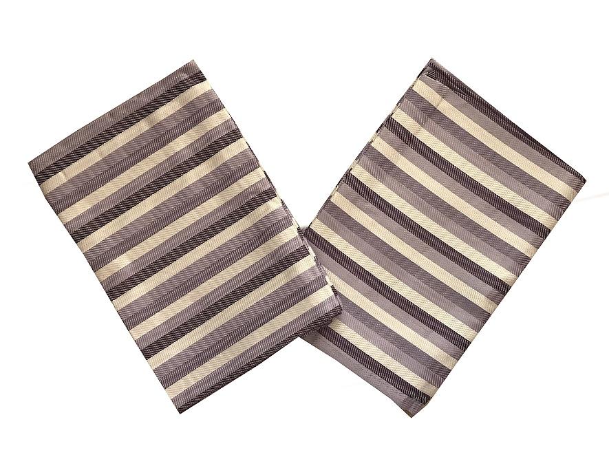 Utěrky Bambus Pruh fialový - 3 ks 50x70 cm