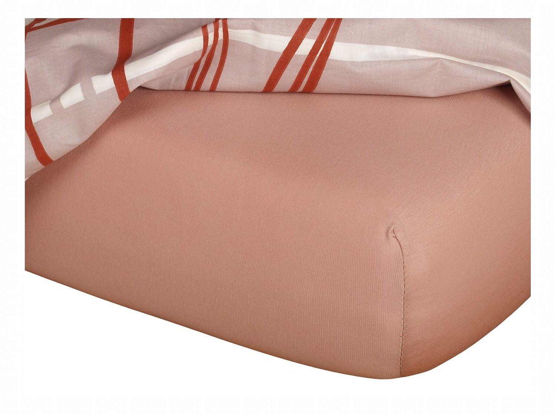 Jersey prostěradlo béžová 60x120x10 cm