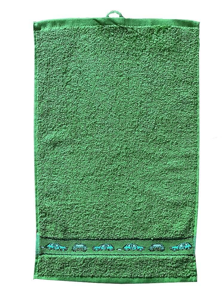 Dětský ručník Kids 30x50 cm green