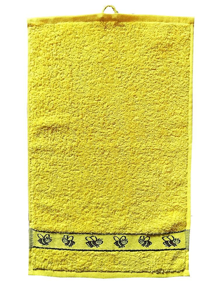 Dětský ručník Kids 30x50 cm yellow