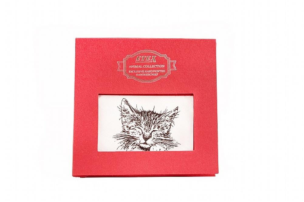 Kapesník L35 dárková krabička Kočka - 1 ks