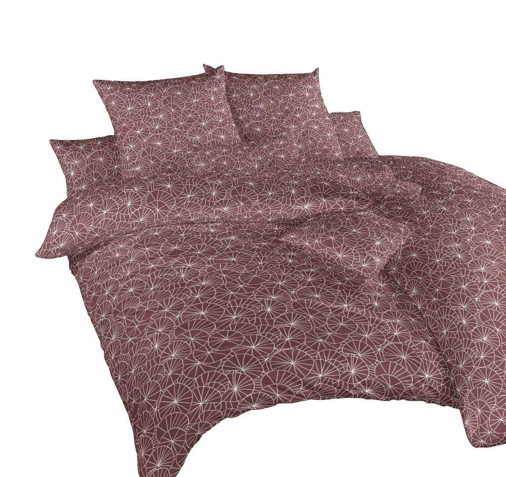 Povlečení bavlna Leknín bílý 140x200, 70x90 cm