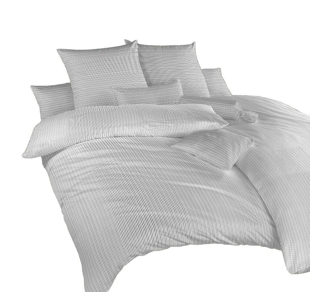 Povlečení bavlna Linea černá 240x200, 2x70x90 cm