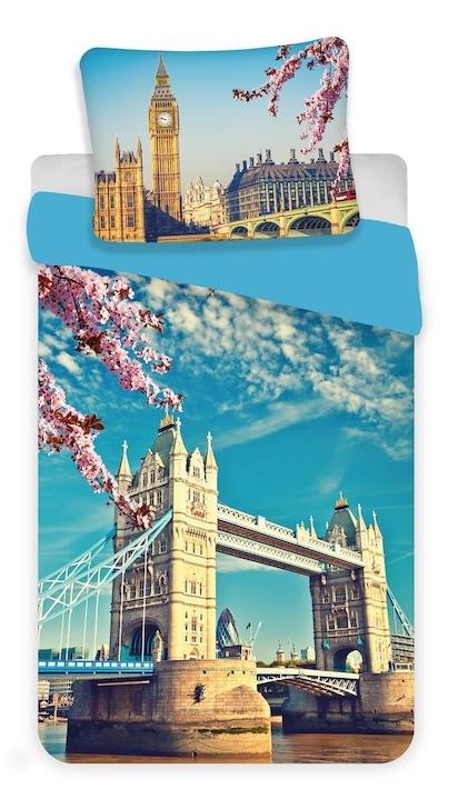 Povlečení fototisk London blue 140x200, 70x90 cm