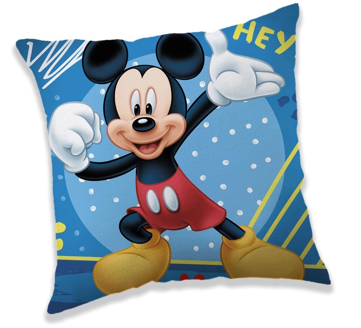 Polštářek Mickey hey 40x40 cm