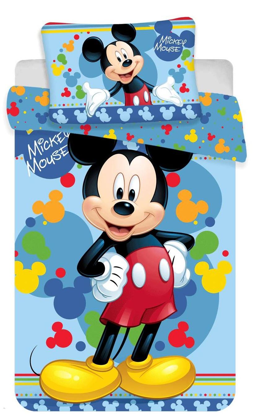 Disney povlečení do postýlky Mickey baby 02 100x135, 40x60 cm