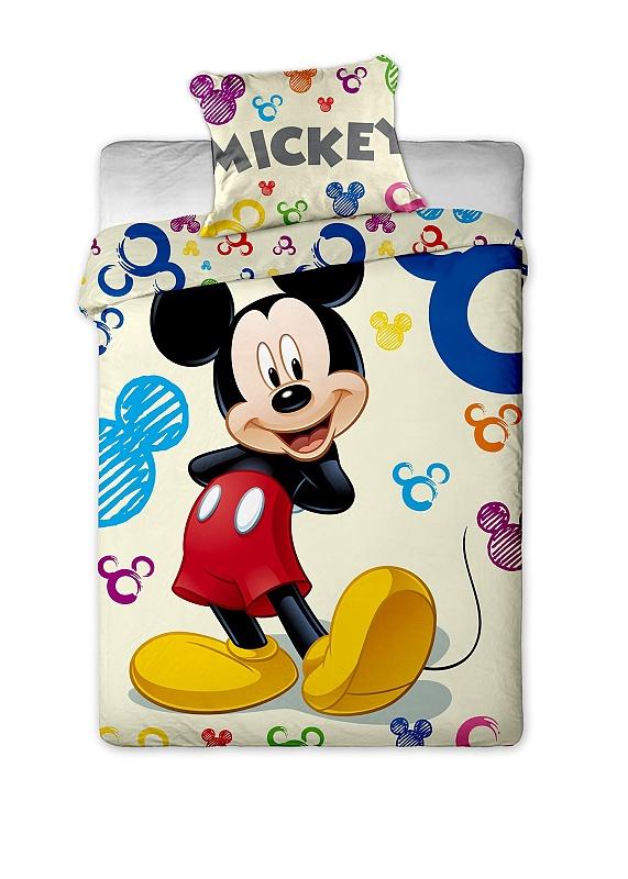 Povlečení Mickey Colours 140x200 70x90