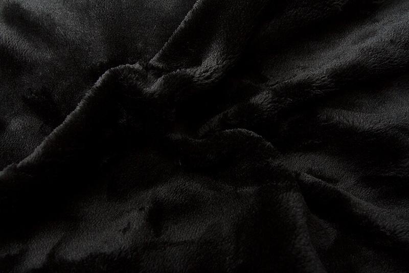 Prostěradlo mikroflanel - černá