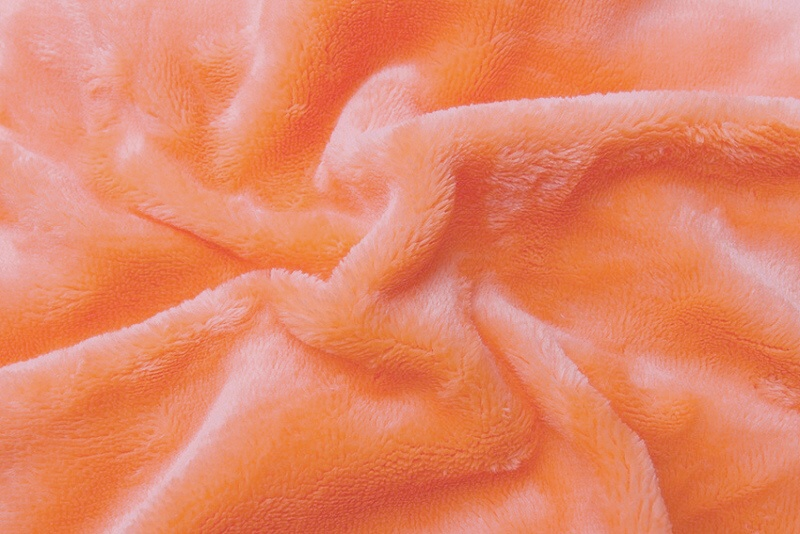 Prostěradlo mikroflanel lososová 90x200x20 cm