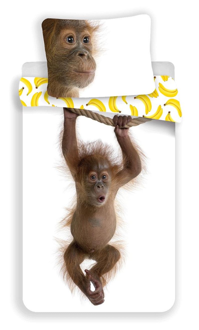 Povlečení fototisk Orangutan 140x200, 70x90 cm