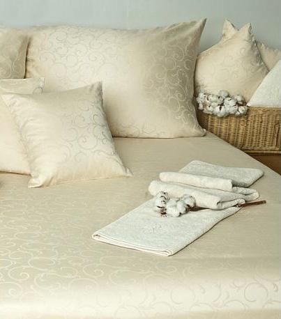 Povlak na polštář Ornella FNR natural cotton - smetanová  1x 40/40