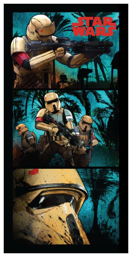 Plážová osuška Star wars Stormtroopers 70x140 cm