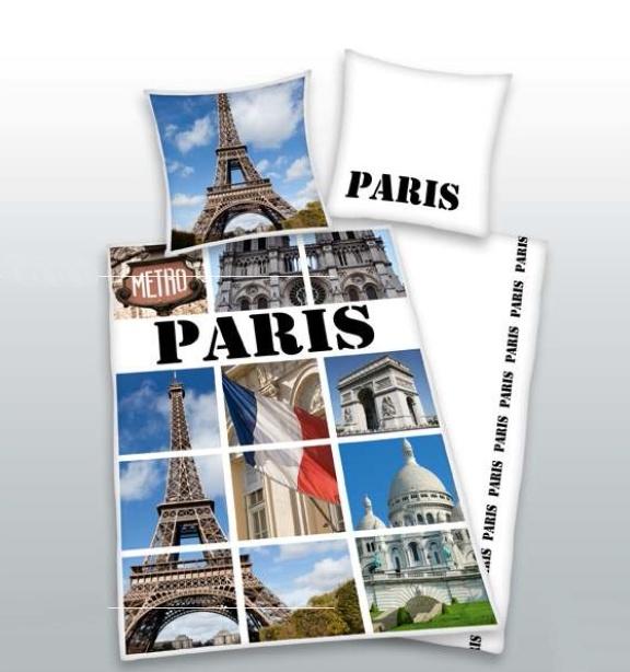 Povlečení Herding bavlna Paris 140x200, 70x90 cm