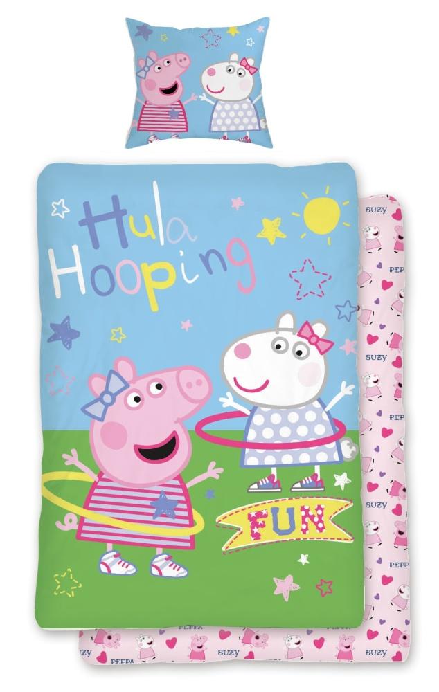 Povlečení Peppa Pig 031 140x200, 70x90 cm