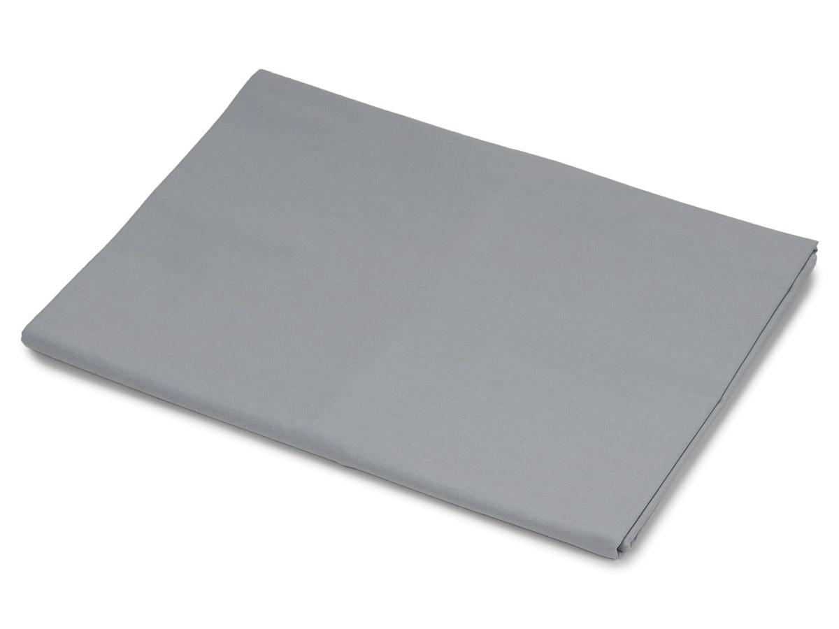 Bavlněná plachta šedá 150x240 cm
