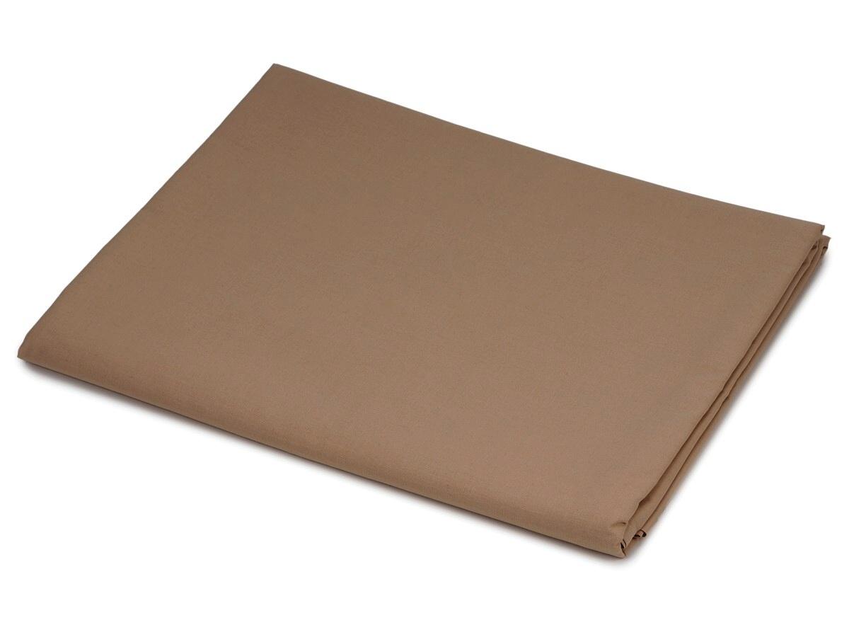Bavlněná plachta světle hnědá 150x240 cm