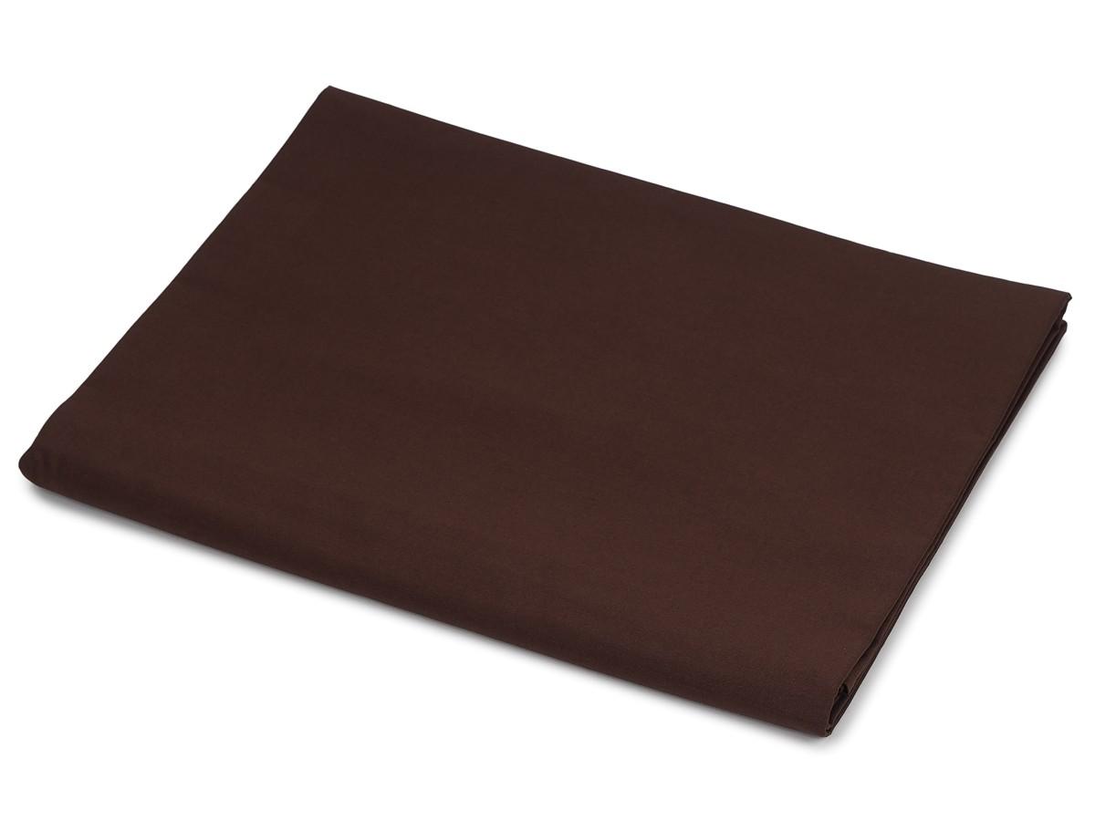 Bavlněná plachta tmavě hnědá 140x240 cm