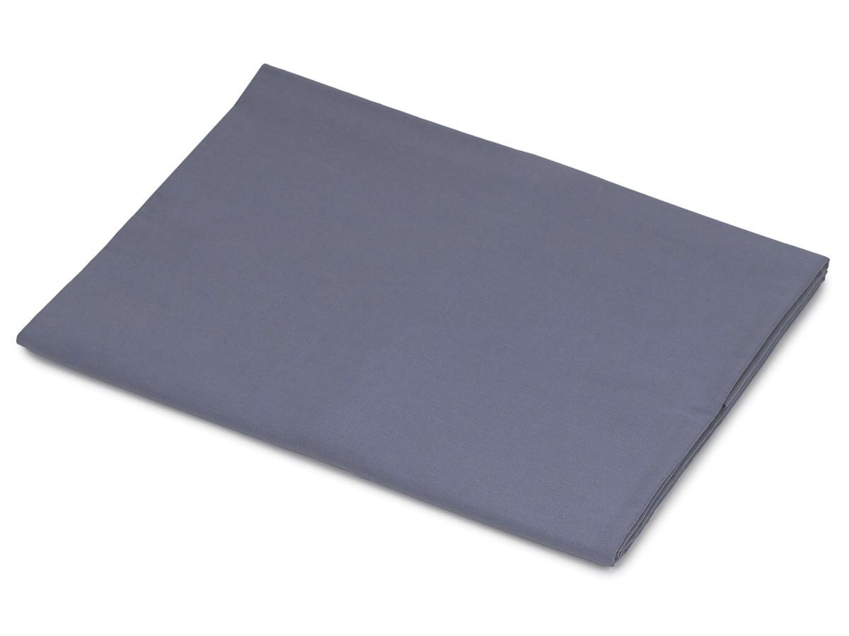 Bavlněná plachta tmavě šedá  140x240 cm