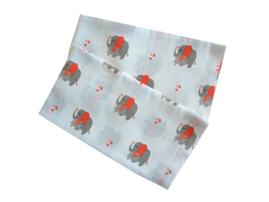 Plena 70x70 cm - Slon terakota (balení 5 ks)