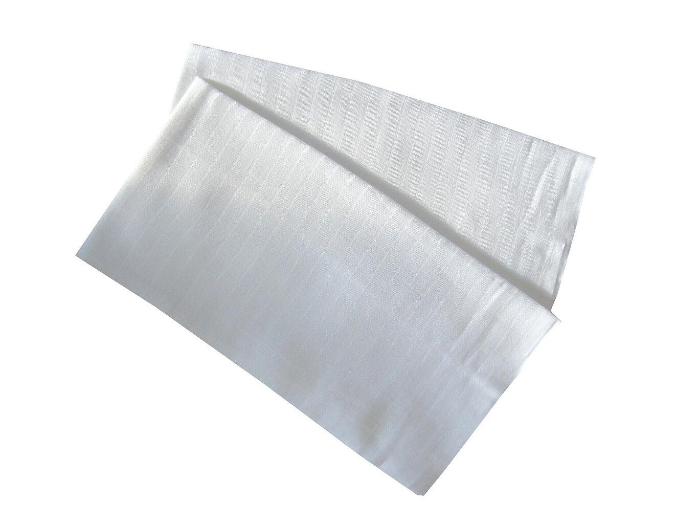 Bambusová plena 70x70 cm bílá (bal 5 ks)