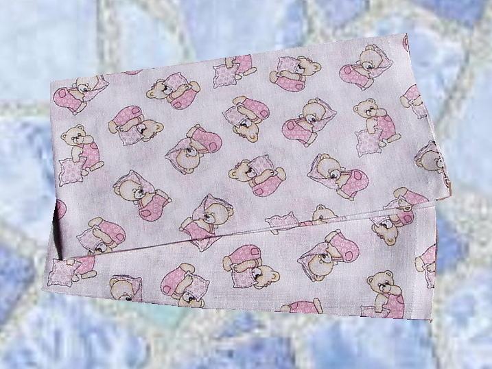 Plena 70x70 Méďa růžový polštář (balení 5 ks)