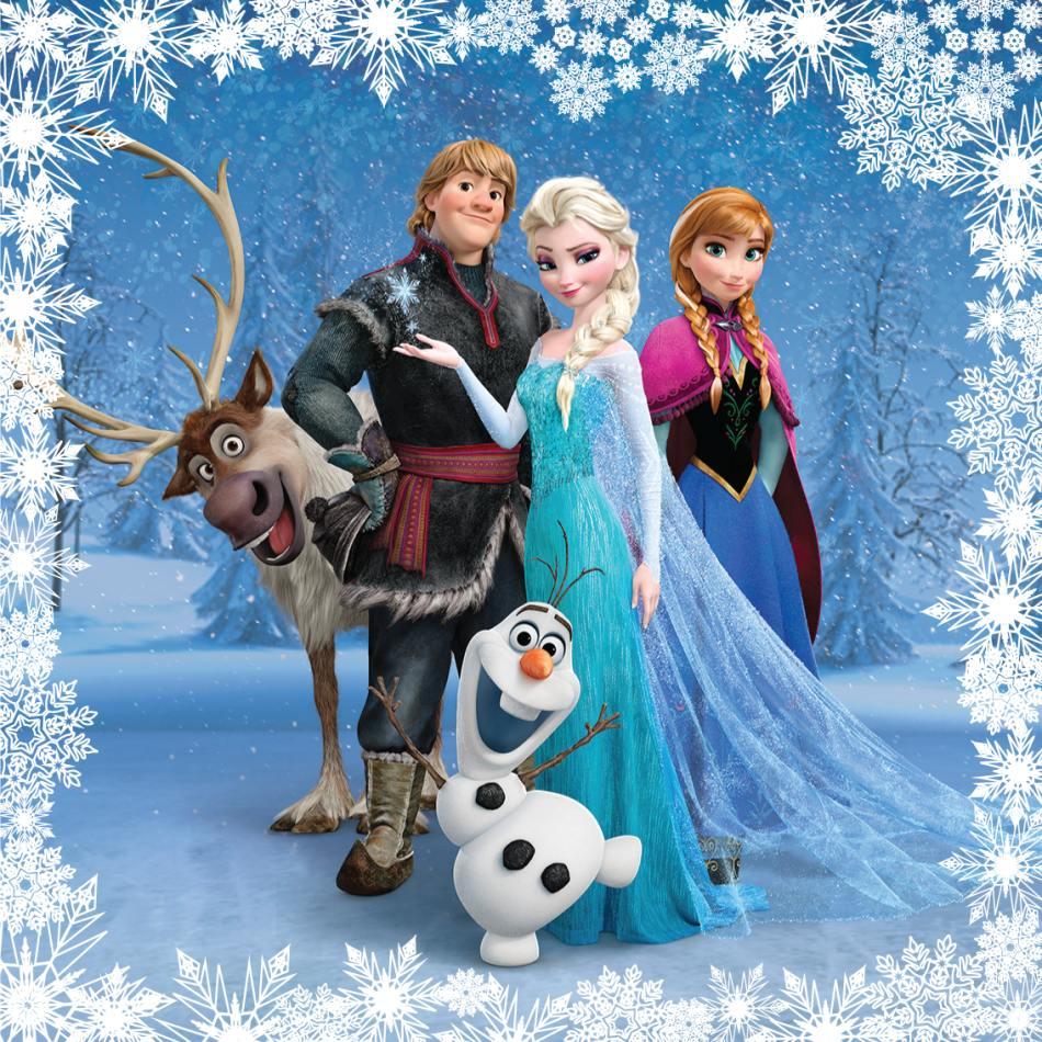 Polštářek Frozen 40x40