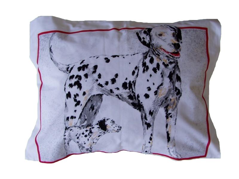 Plněný polštářek Dalmatini 45x60 cm