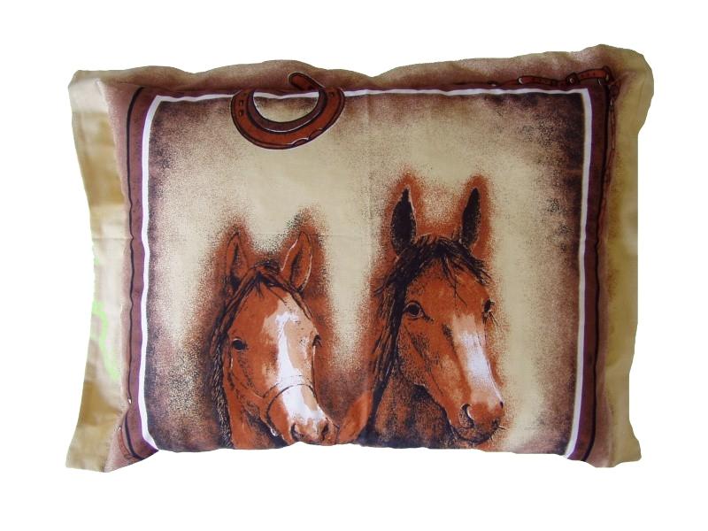 Plněný polštářek Koně 45x60 cm