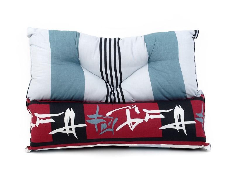 Relaxační polštářek barevný potisk 40x60 cm