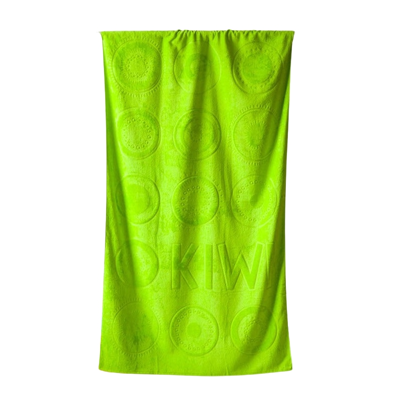 Plážová osuška Riviera 104x180 cm zelená