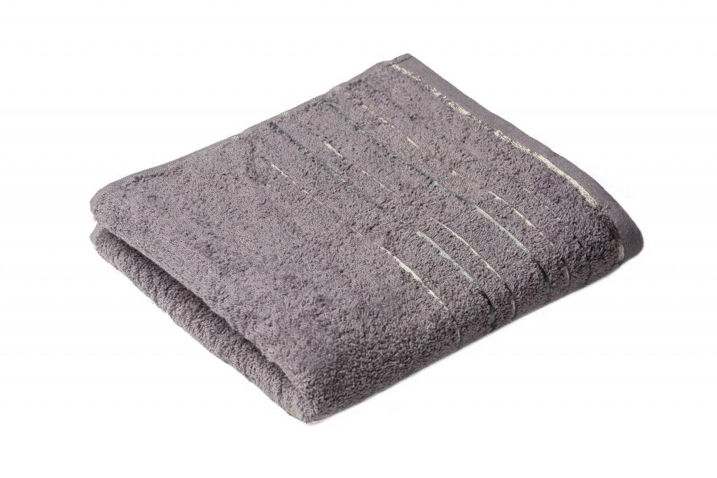 Osuška Zara 70x140 cm šedá