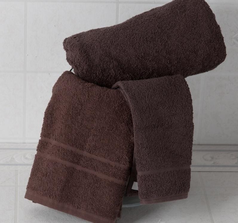 Ručník Rujána tmavě hnědá 50x30 cm