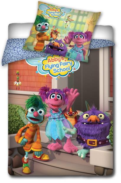 Povlečení bavlna ANIMAL PLANET Sesame street 140x20070/80