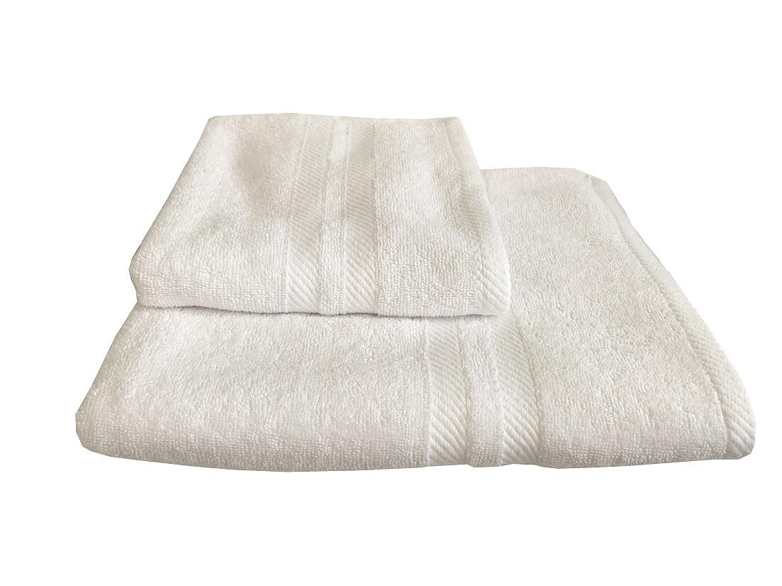 Osuška LINDA bílá 70x140 cm