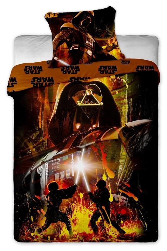 Povlečení bavlna Star Wars Darth Vader 1x 140/200, 1x 90/70