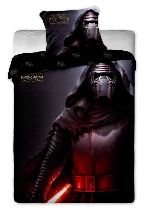 Povlečení bavlna Star Wars VII 1x 140/200, 1x 90/70