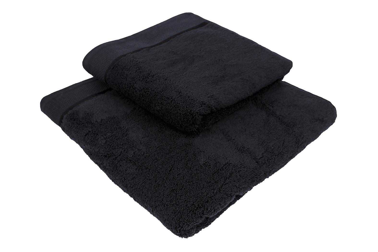 Ručník Star 50x100 cm černý