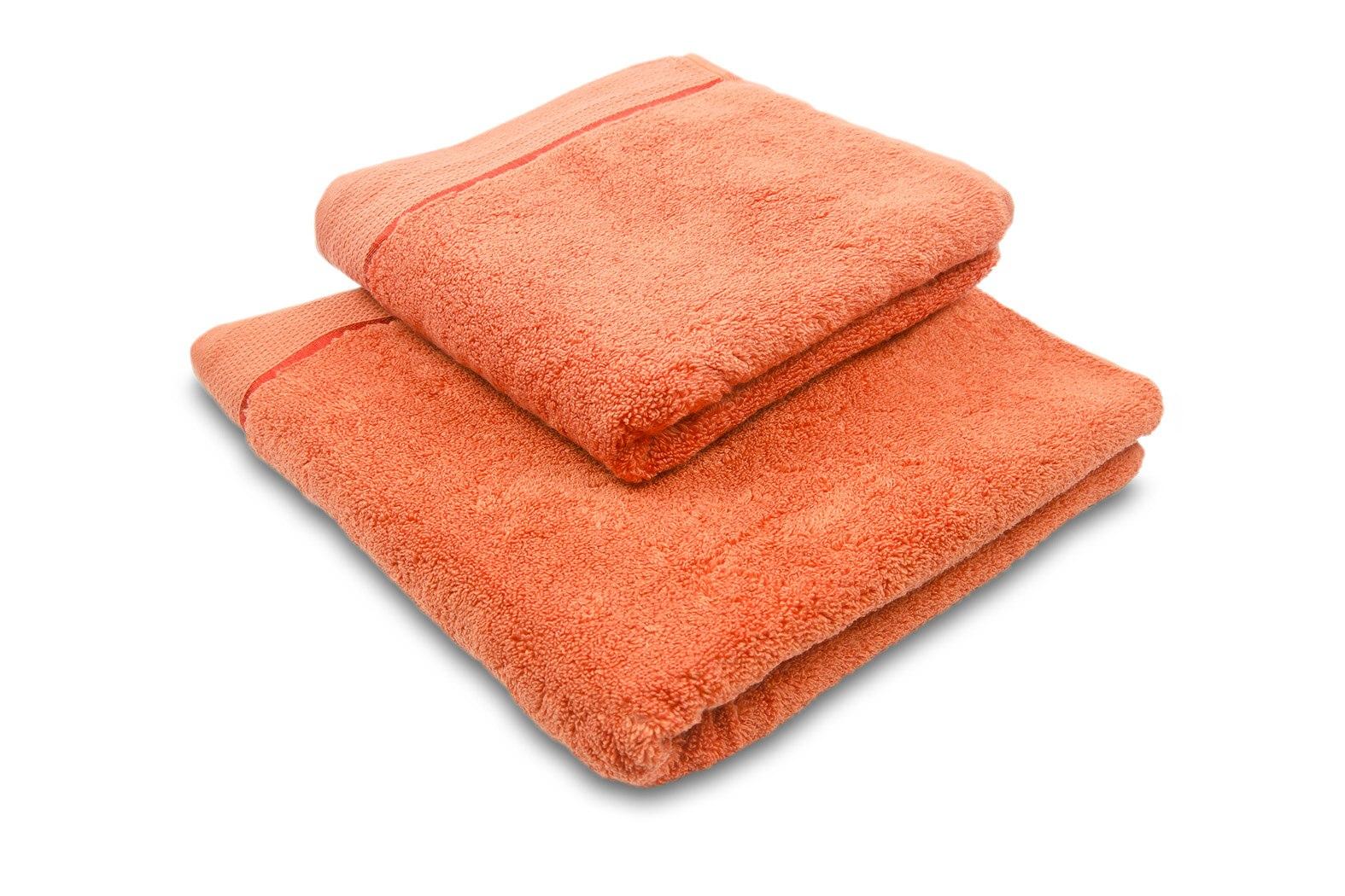 Ručník Star 50x100 cm oranžová
