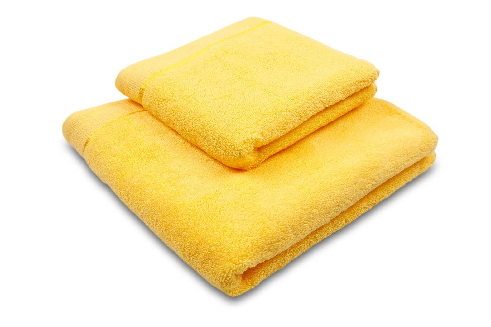 Ručník Star 50x100 cm žlutá