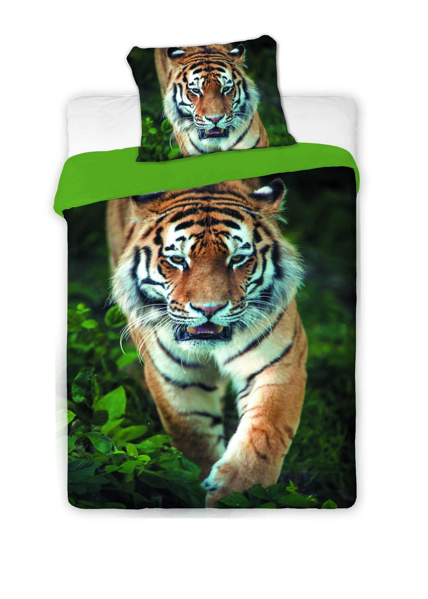 Povlečení fototisk Tygr 2016 140x200 70x90
